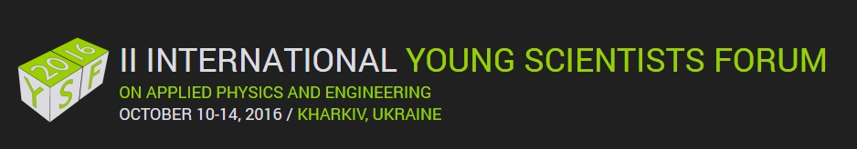 2 Int young scienists forum